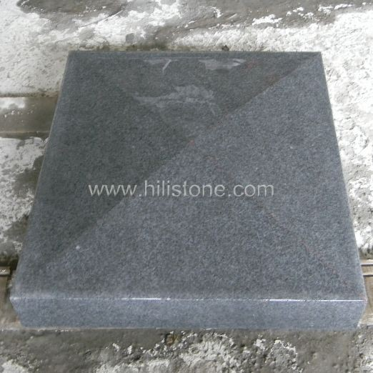 G654 Blue Black Granite Polished Coping Stone