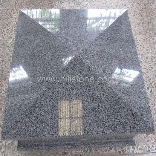 G654 Impala Type Granite Polished Coping Stone