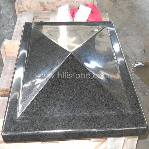 G684 Black Polished Coping Stone