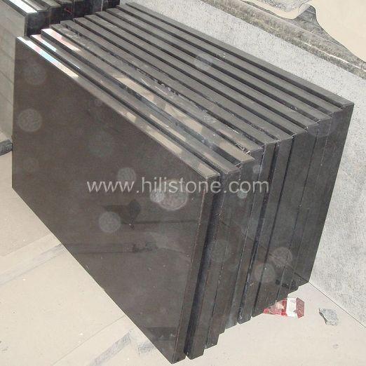 Black Granite Polished Table top - Rectangular
