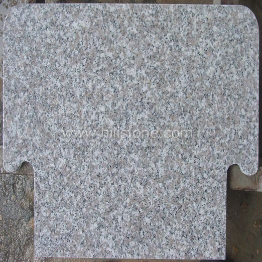 G636 Pink Granite Polished Table top