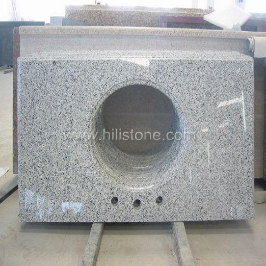 Grey Granite Polished Vanity Top