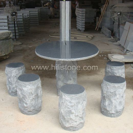 Stone furniture Table & Bench 32