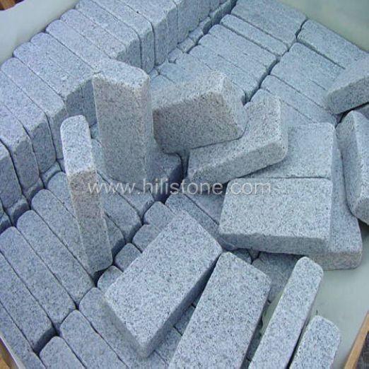 G603 Granite Flamed + Tumbled Cobblestone