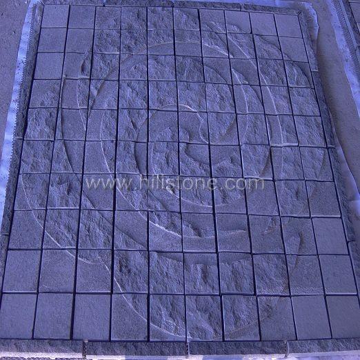 G684 Black Pattern - Square Shape