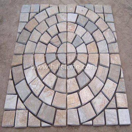 Yellow Qartzite Pattern - Square Shape