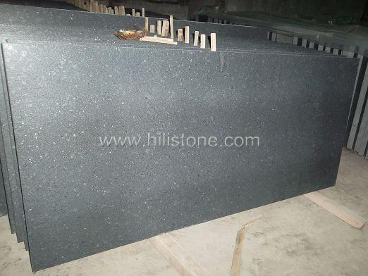 G684 Black Tiles - Leather Finish