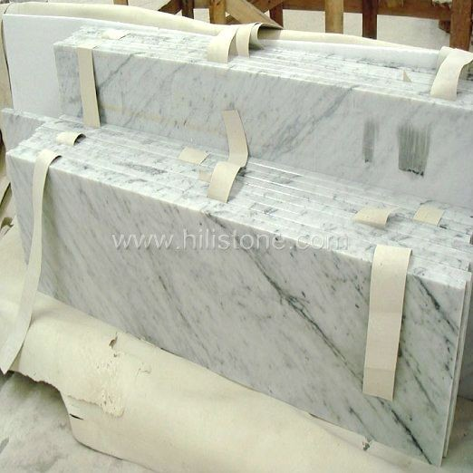 Carrara Bianco Marble Polished Step