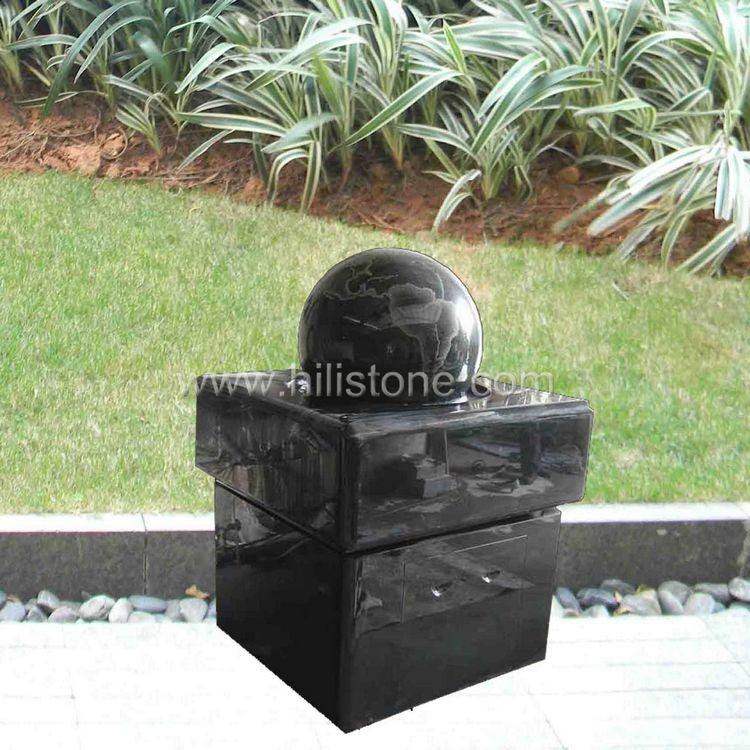 Rolling Ball Fountain 1