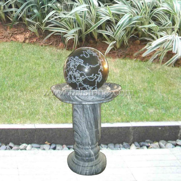 Rolling Ball Fountain 9