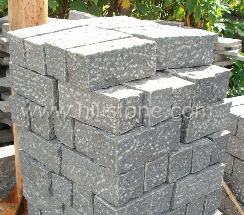 Stone Palisades G654 12x12cm Rough Bushhammered