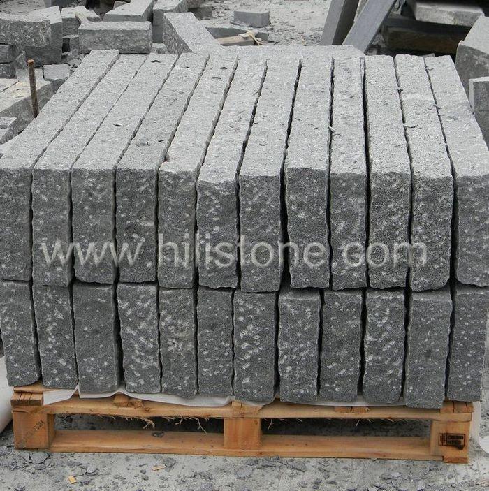 Stone Palisades G654 25x10cm Rough Bushhammered