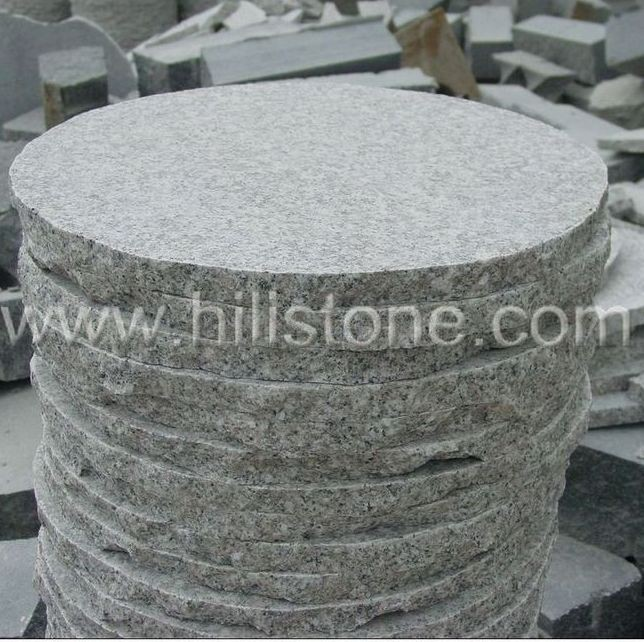 G603 Round Flamed Stepping Stone