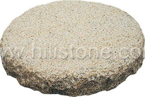 G682 Round Bushhammered Stepping Stone