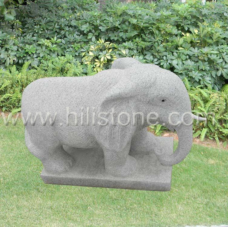 Stone Animal Sculpture Elephant 7