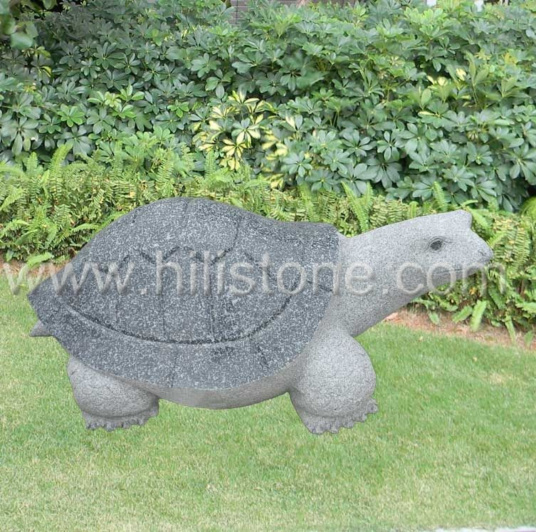 Stone Animal Sculpture Turtle 2