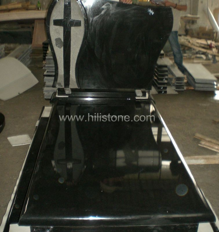 Tombstone Set TM52 Shanxi Black tombstone