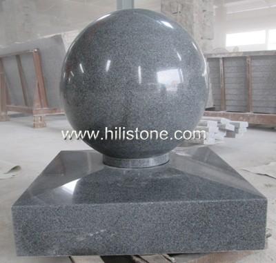 G654 Blue Black Polished Coping Stone