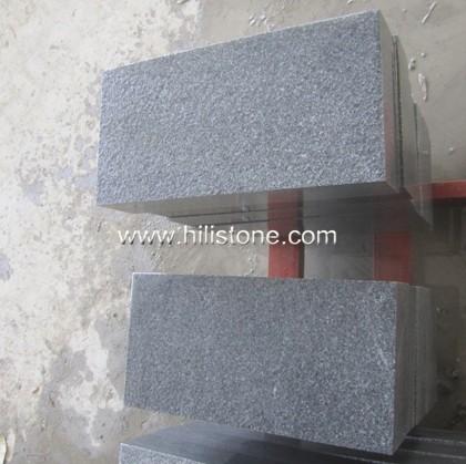G654 Blue Black Granite Flamed Paving Stone