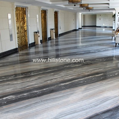 Palissandro Blue Marble Polished Tiles