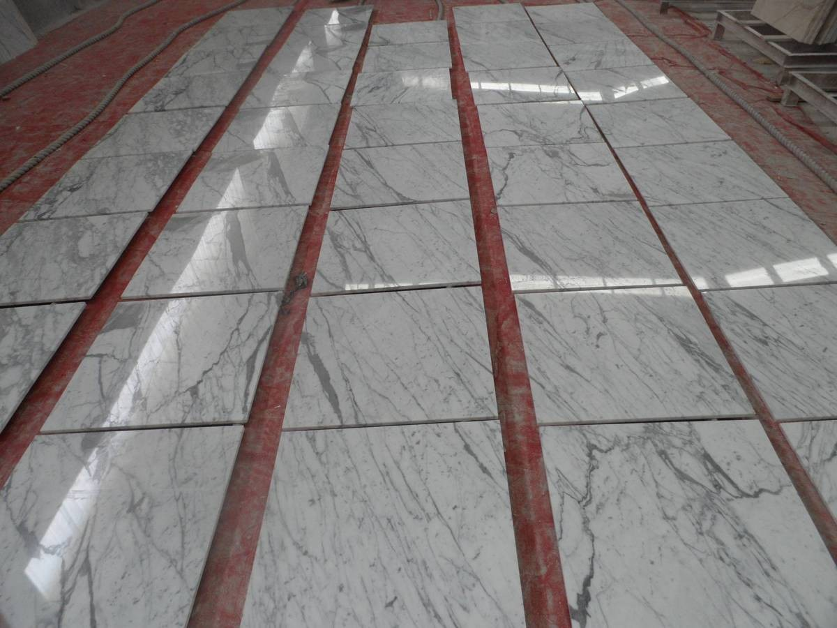 Statuario Polished Tiles