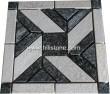 Black + White Quartzite Mosaic